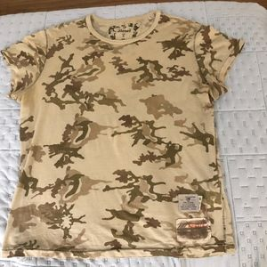 Diesel Psychotechnic Airbotic Camp T-shirt Size S